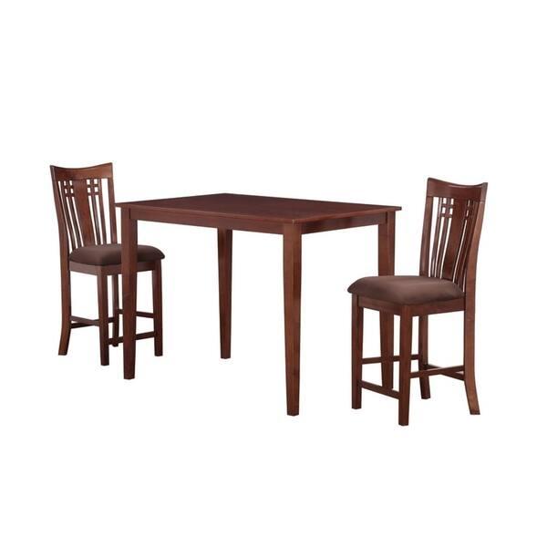 Remarkable Shop Jamie Cherry Wood Counter Stool Set Of 2 On Sale Creativecarmelina Interior Chair Design Creativecarmelinacom
