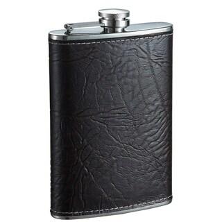 Visol Russell Dark Brown Liquor Flask - 8 ounces