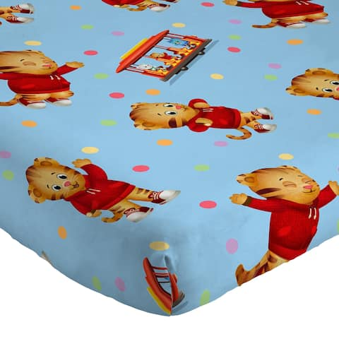 PBS Kids Daniel Treehouse 3 piece Twin Sheet Set