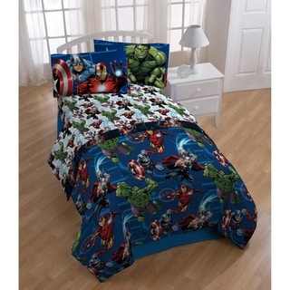 Link to Marvel Avengers Heroic Age 3 Piece Twin Sheet Set Similar Items in Kids Comforter Sets