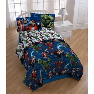 Marvel Avengers Heroic Age 3 Piece Twin Sheet Set