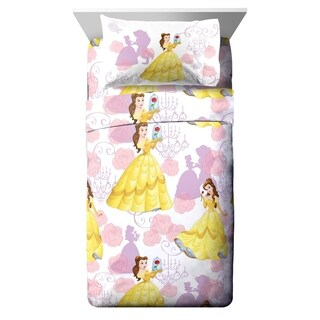Disney Beauty & The Beast True Beauty 3 Piece Twin Sheet Set (2 options available)