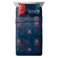 Marvel Spiderman Homecoming Attack 3 Piece Twin Sheet Set