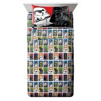 Star Wars Classic Full 4 Piece Sheet Set