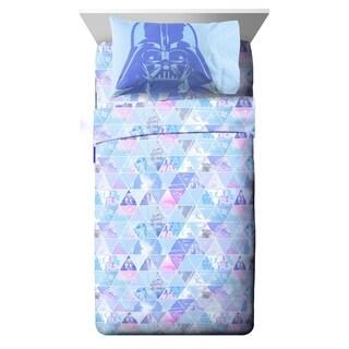 Star Wars Celestial Logo 3 Piece Twin Sheet Set