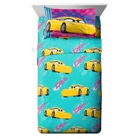 Disney/Pixar Cars 3 Movie Cruz 3 Piece Twin Sheet Set