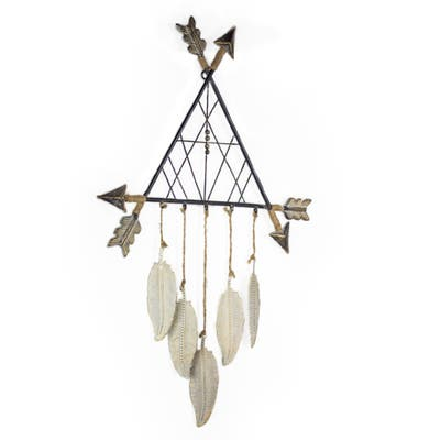 American Art Decor Metal Arrow Tee Pee Dreamcatcher