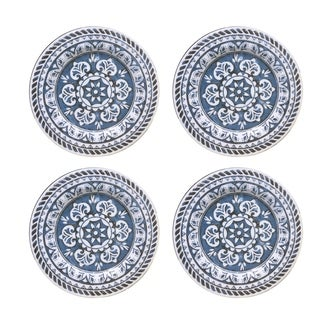 homestead blue set/4 dinner plates  sc 1 st  Overstock & American Atelier Dinnerware For Less | Overstock