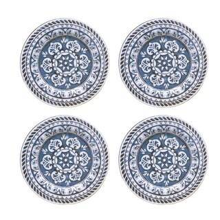 homestead blue set/4 dinner plates
