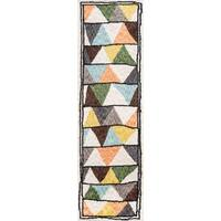 "Novogratz by Momeni Bungalow Triangles Rug - 2'3"" x 8'"