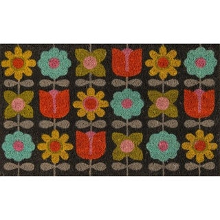 "Link to Novogratz by Momeni Flower Child Coir Doormat 1'6"" X 2'6"" Similar Items in Decorative Accessories"