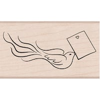 """Hero Arts Mounted Rubber Stamp 3.75""""X1.375"""""""