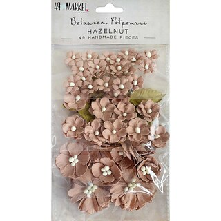 49 And Market Botanical Potpourri Flowers 49/Pkg
