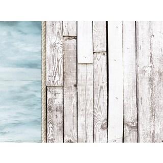 """Kaisercraft Beach Shack D-Ring Album 12""""X12"""""""