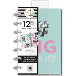 Happy Planner 12-Month Dated Mini Planner 5.125X7.5""