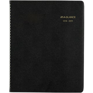 "AT-A-GLANCE Large Academic Monthly Planner 8.875""X11"""