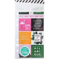 Heidi Swapp Memory Planner Cardstock Stickers
