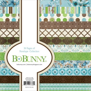 "BoBunny Single-Sided Paper Pad 6""x6"" 36/Pkg"