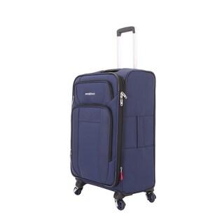 SwissGear Navy 25- inch Spinner Suitcase