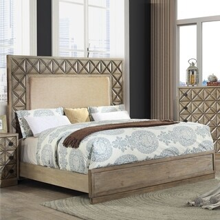 Furniture of America Onidian Global Carved Wood Bed