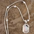 Handmade Luminous Opal Pendant (India) (Set of 2)
