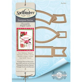 Spellbinders Chantilly Paper Lace By Becca Feeken