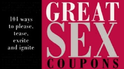 Great Sex Coupons (Paperback)
