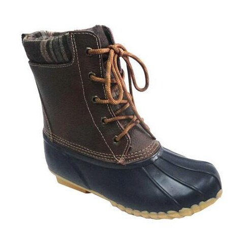 Women's Sporto Debunk Duck Boot Navy Leather/Textile