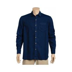 Men's Tommy Bahama Dobby Dylan Long Sleeve Shirt Blue Note