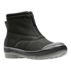 Women's Clarks Muckers Hike Boot Black Nubuck/Polyurethane Coated/Textile