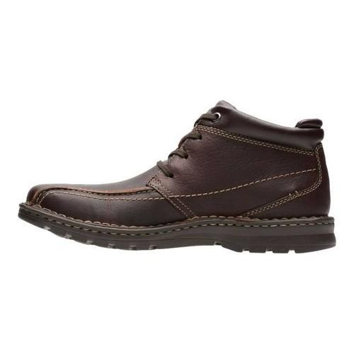 Clarks Vanek Rise Men/'s Brown Oily Leather Ankle Boots 26128416