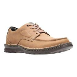 Men's Clarks Vanek Apron Oxford Tan Full Grain Leather/Synthetic