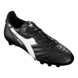 Men's Diadora Brasil OG MD Soccer Cleat Black/White