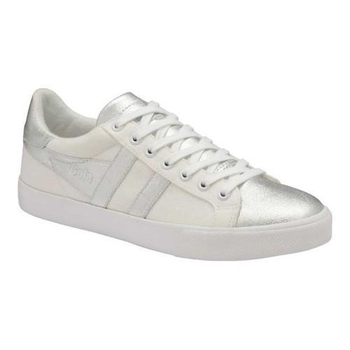 c45be5dc527c Shop Women's Gola Orchid Metallic Sneaker White/Silver Leather - Free  Shipping Today - Overstock - 18158973