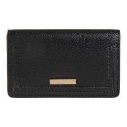 Women's Lodis Stephanie RFID Mini Card Case Black