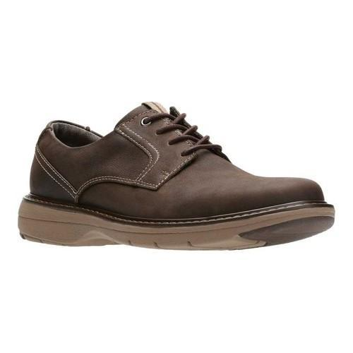 6dae7604c Shop Men s Clarks Cushox Pace Derby Shoe Dark Brown Nubuck - Free Shipping  Today - Overstock - 18151026