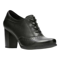 995068dc Women's Clarks Claeson Pearl Brogue Black Full Grain Leather    Overstock.com Shopping - The Best Deals on Boots