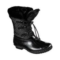 Women's Skechers Hampshire Manchester Duck Boot Black