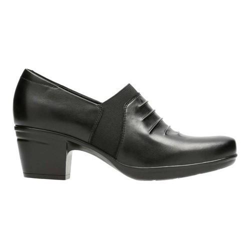 9255adc8623 ... Thumbnail Women  x27 s Clarks Emslie Chara Bootie Black Full Grain  Leather ...