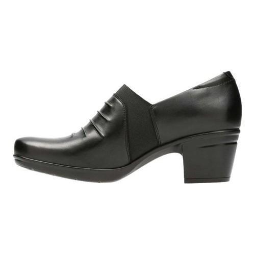 7347709f77a ... Thumbnail Women  x27 s Clarks Emslie Chara Bootie Black Full Grain  Leather