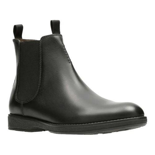 590ae20a1a8 Men's Clarks Hinman Chelsea Boot Black Leather