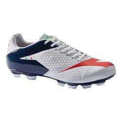 Men's Diadora MW-Tech RB R LPU Soccer Cleat White/Blue Night/Ferrari Red (More options available)