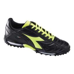 Men's Diadora Winner RB LT Turf Shoe Black/Yellow Fluo (3 options available)