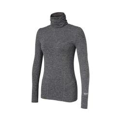 Women's Terramar Climasense Thermolator 2.0 Turtleneck Grey Melange