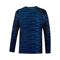 Children's Terramar Genesis Fleece Long Sleeve T-Shirt All Terrain Print