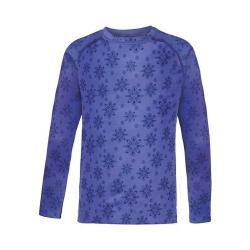 Children's Terramar Genesis Fleece Long Sleeve T-Shirt Aspen Daisy Print