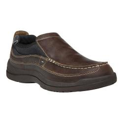 Men's Propet Hugh Slip-On Brown Full Grain Leather