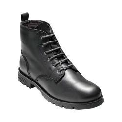 Women's Cole Haan Keaton 6in Waterproof Plain Toe Boot Black Waterproof Leather