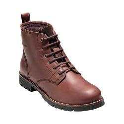 Women's Cole Haan Keaton 6in Waterproof Plain Toe Boot Burnt Chili Waterproof Leather