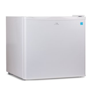 Commercial Cool 1.2 Cu. Ft. Upright Freezer with Adjustable Thermostat Control and R600a Refrigerant, White